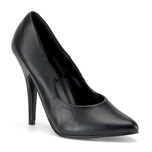 Pleaser - Zapatos de vestir de piel para mujer negro Schwarz