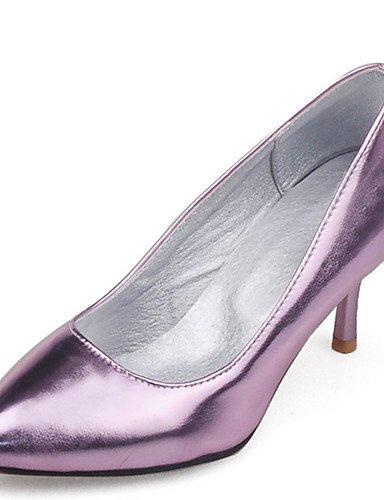 GGX Tacón 5 cn45 eu43 Plata purple purple Mujer eu43 us5 purple cn45 5 us11 PU Puntiagudos Morado 5 uk9 Vestido Tacones us11 y Stiletto uk9 5 Casual Tacones eu35 uk3 cn34 Noche Fiesta Oro prpOUBq5