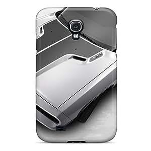 IanJoeyPatricia Samsung Galaxy S4 Shock Absorbent Hard Phone Case Customized Vivid Dodge Challenger Image [Ser11334ExZy]