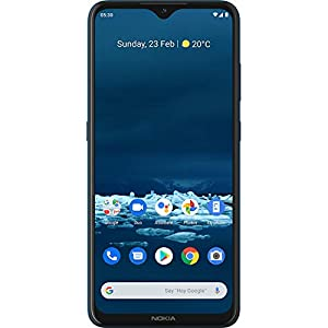 Nokia 5.3 Android One Smartphone with Quad Camera, 4 GB RAM and 64 GB Storage – Cyan