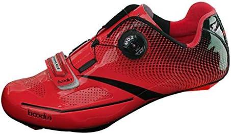 B Baosity Zapatillas de Ciclismo de Carretera para Hombre ...