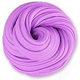 Fluffy Slime 5.3 OZ Purple Super Soft Jumbo Fluffy Floam Slime Stress Relief Toys