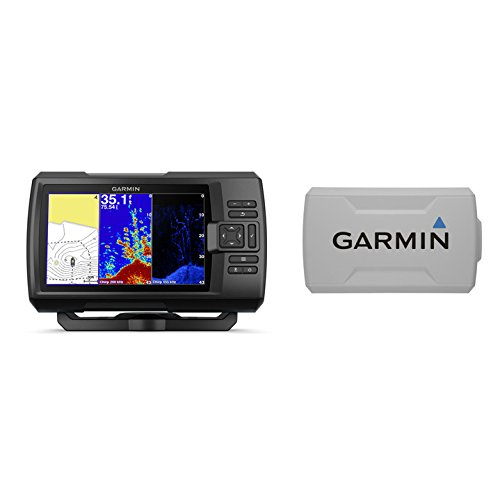 Garmin STRIKER Plus 7cv with CV20-TM Transducer and Protective Cover, 7 inches 010-01873-00 ()