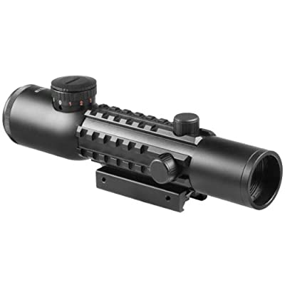 BARSKA 4x28 Electro Sight IR Mil-Dot Riflescope by Barska