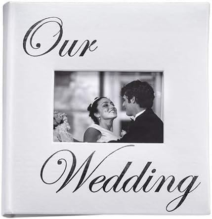 Amazon Com Our Wedding Album By Malden Holds 160 Photos 4x6 Home Kitchen