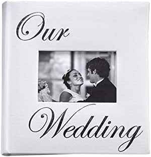 Amazon Com Our Wedding Album By Malden Holds 160 Photos 4x6 Home Kitchen