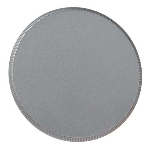 (Fotodiox M42 Metal Silver Camera Body Cap for 42mm x1 Thread Screw Mount Camera)