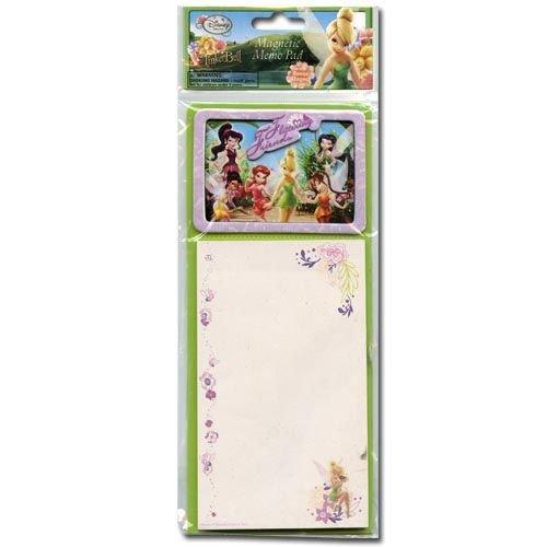 (Disney Tinkerbell Magnetic Memo Pad W/bonus Magnet)