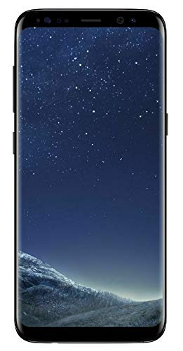 Samsung Galaxy S8 - Unlocked - Midnight Black (Renewed)