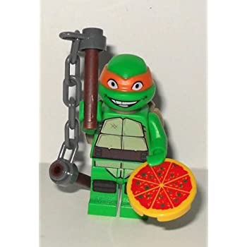 Lego: TMNT - Michelangelo with Pizza