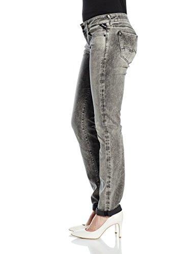 Donna grey Replay 10 Jeans Grigio Rose Denim Da qXxw7St