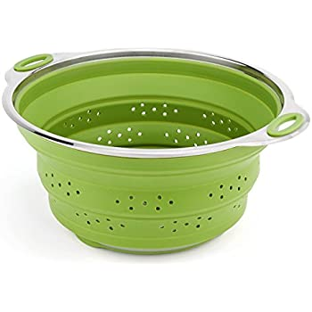 Amazon Com Best Large Collapsible Silicone Colander