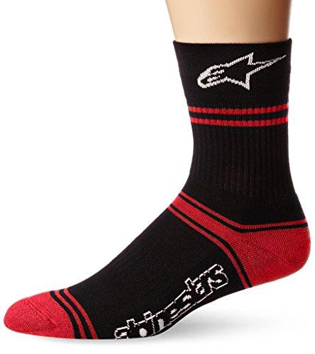 Alpinestars Summer Socks, Black/Red, ()