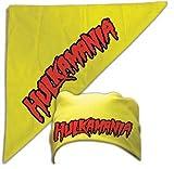 """Hulk Hogan """"hulkamania"""" bandana, One Size,Hulkamania,Hulkamania Bandana"""