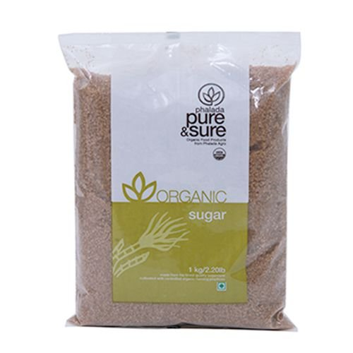 phalada puro y seguro de orgánico–azúcar café, 1kg bolsa