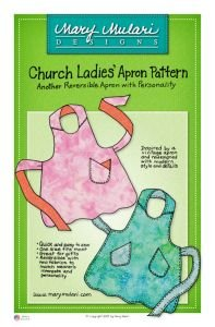 Mary Mulari Designs Church Ladies Apron  - Reversible Apron Pattern Shopping Results