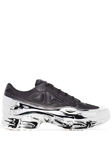 Raf Simons Adidas Men's Ee7944 Black Leather Sneakers