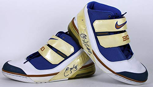 - Wizards Caron Butler Signed Game Used Size 14 Nike Shoes BAS #B93873 - Beckett Authentication - Autographed Game Used NBA Sneakers