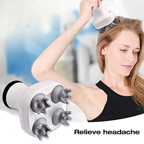 Handheld Scalp Massager Portable Electric Scalp Head Body Massager Widely Used For Neck Arm Leg by ETTG