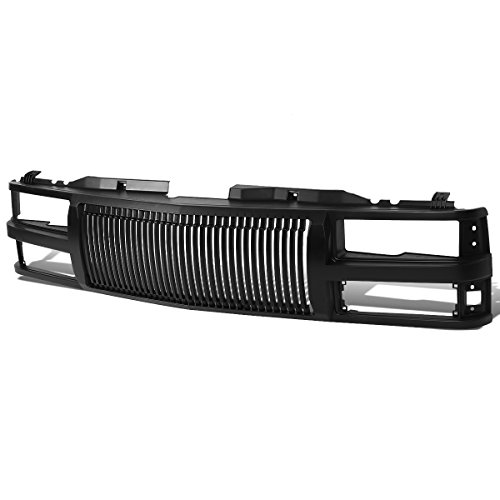 For Chevy C/K Series Front Vertical Fence Style Bumper Grille Guard ()