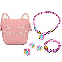 Crossbody Bag and Beaded Jewelry for girls