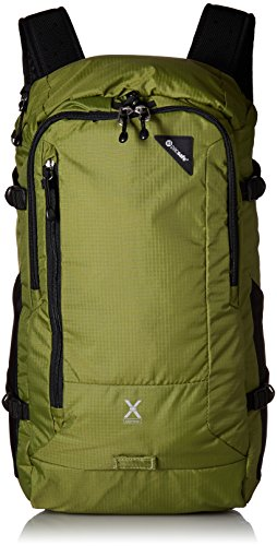Pacsafe Venturesafe X30 Anti-Theft Adventure Backpack (Olive Green) by Pacsafe