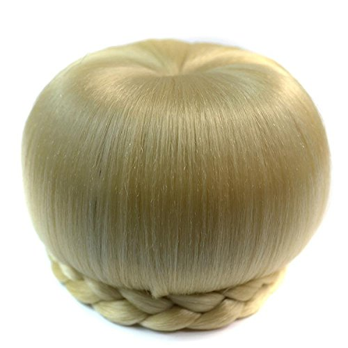 [Apple retro ball of hair fiber for wig hair braid letting high temperature wire pop pretty chignon,070 meters] (Water Meter Costume)