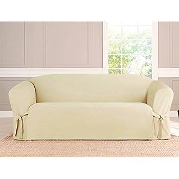 Amazoncom Kashi Microsuede Slipcover Sofa Loveseat Chair