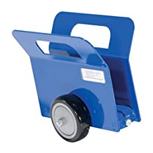 """Vestil PLDL-LD-2-4PP Lightweight Door and Panel Dolly with Poly on Poly Wheel, 350-lb. Load Capacity, 9-9/16"""" x 6-15/16"""" x 10"""""""