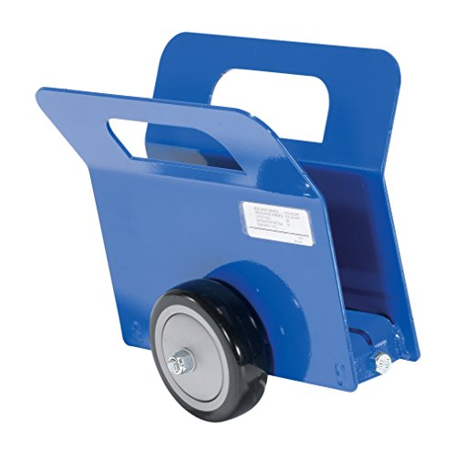 Vestil PLDL-LD-2-4PP Lightweight Door and Panel Dolly with Poly on Poly Wheel, 350-lb. Load Capacity, 9-9/16' x 6-15/16' x 10'