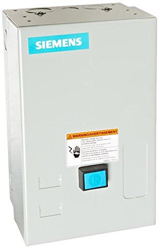 Siemens 14CUC32BC Heavy Duty Motor Starter, Solid State Overload, Auto/Manual Reset, Open Type, NEMA 1 General Purpose Enclosure, 3 Phase, 3 Pole, 0 NEMA Size, 3-12A Amp Range, A1 Frame ()