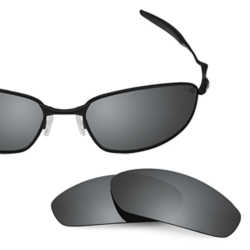 Revant Polarized Replacement Lenses for Oakley Whisker Black Chrome MirrorShield by Revant