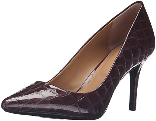 Calvin Klein Women's Gayle Dress Pump, Cabernet, 7.5 M US by Calvin Klein