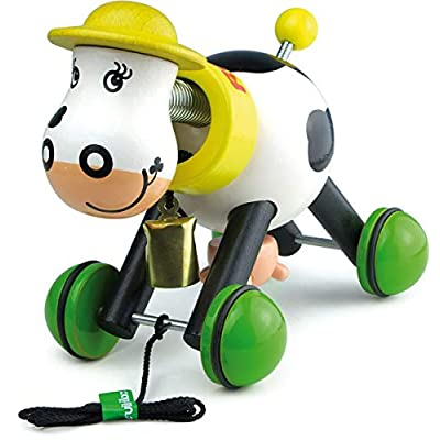 Vilac Pull Toy, Rosy The Cow : Push And Pull Baby Toys : Baby