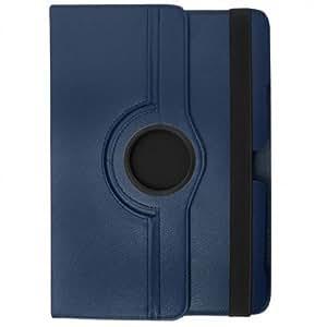 ROTATE Terryshop74® ° Funda Giratoria 360 Para IPAD MINI, Diseño de Protección y PRATICITA'color Azul