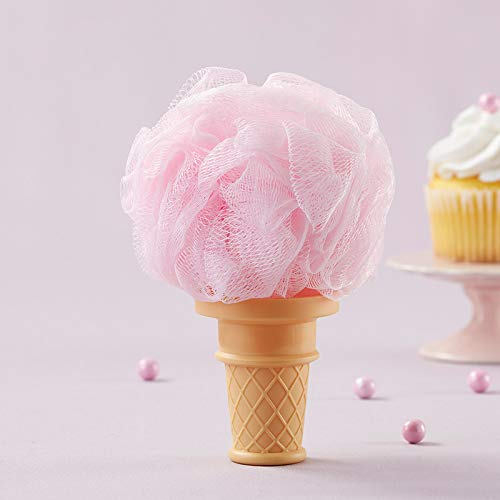 - Kate Aspen So Sweet Strawberry Ice Cream Shaped Loofah (12 Loofah Favors) Super Sweet Baby Shower, Birthday or Bridal Shower Favor