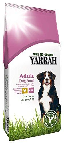 Yarrah Bio Hundefutter Sensitive Huhn und Reis 2 kg, 1er Pack (1 x 2 kg)