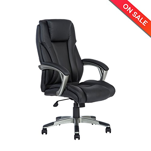 lch ergonomic high back office chair leather executive computer