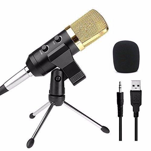 12 opinioni per ELEGIANT Professionale Microfono a Condensatore da Studio Microfono Studio