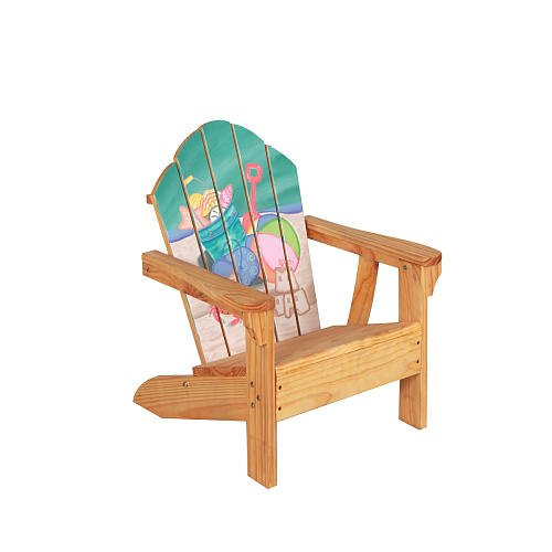 Teamson Kids Winland Hand Painted Sand Pail Table and Chair Set