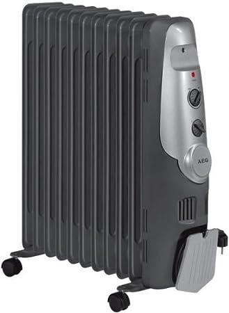 AEG RA Radiador de aceite W elementos termostato niveles de potencia