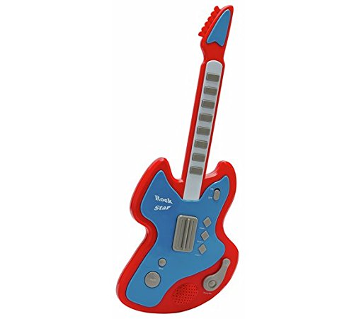 New Chad Valley Electronic Guitar - Red & Blue - Perfect Gift For Any Child RA-HOMESTORE
