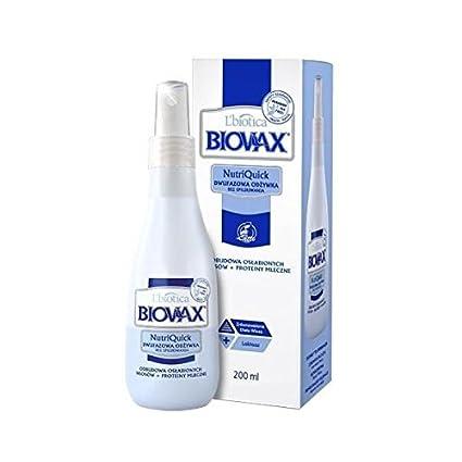 L biotica biovax nutriquick acondicionado Latte Leche Proteínas 200 ml