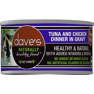 Dave's Pet Food Naturally Healthy Grain-Free Tuna & Chicken