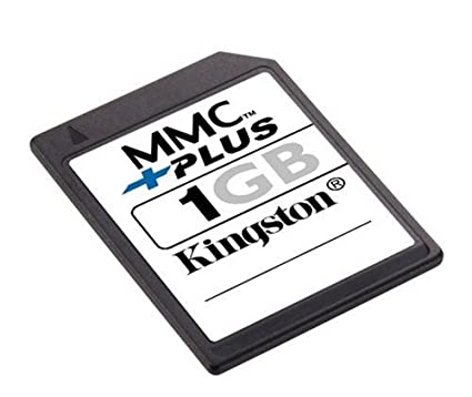 Kingston Technology 1GB MultiMediaCardplus Memoria Flash MMC ...