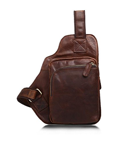 1 Messenger Shoulder Bags Vintage Sucastle Design Large Briefcases Capacity Leather Men's cqvcSXR