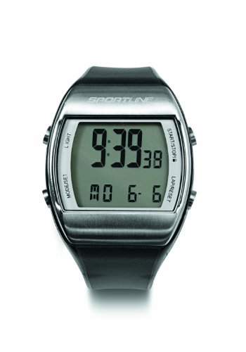 Sportline Solo 925 Heart Rate Watch Plus Pedometer To Accurately Track Steps And Distance