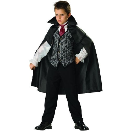 Midnight Vampire Child Costume - (Midnight Vampire Costume Child)