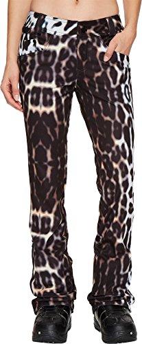 Volcom Snow Women's Battle Stretch Pants Cheetah (Cheetah Snowboard Jacket)