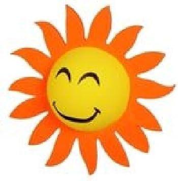Car Auto Antenna Pen Topper Aerial Ball Decor Yellow Face Sun Sunshine Sunflower